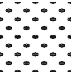 Invated label pattern seamless vector
