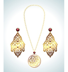 Jewelry collection vector