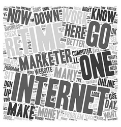 No wonder it s so hard to make money online text vector