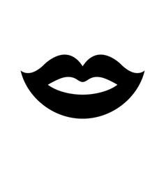 Sexy lips icon vector