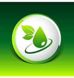 leaf icon symbol nature sign element vector image
