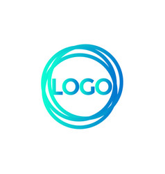 abstract logo icon background design template vector image