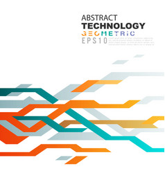 Abstract technology background in circuit tech vector