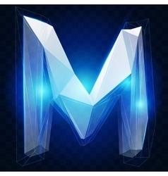 Crystal ise alphabet type vector