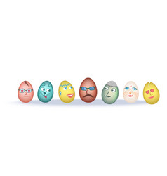 easter eggs jokes vector image