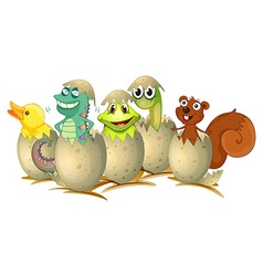 Hatching vector image