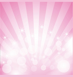 lights pink pattern with spheres beautiful blurred vector image