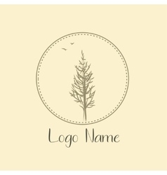 Tree logo for photografer nature Icon ecology and vector image vector image