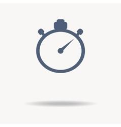 stopwatch icon Flat design vector image