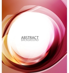 Abstract red energy background vector image vector image