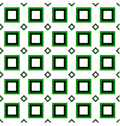 Abstract seamless pattern - square design vector