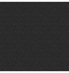Black Leather Texture Seamless Pattern Background Vector Image