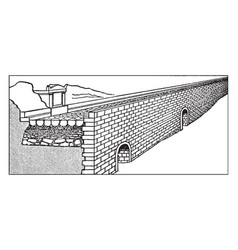 Construction layers a section appian vector