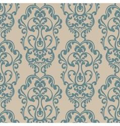 Damask Elegant Royal ornament pattern vector