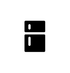 fridge refrigerator icon vector image