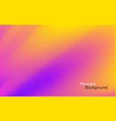 orange purple background smooth colorful gradient vector image