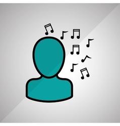 Profil icon design vector