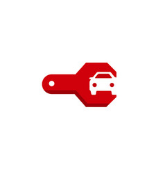 Repair car symbol logo vector