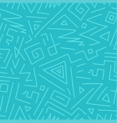 seamless geometric pattern - hand drawn vector image