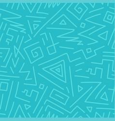 Seamless geometric pattern - hand drawn vector