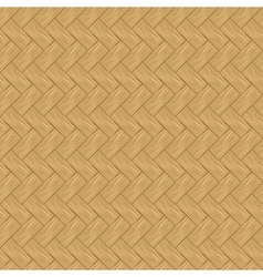 Seamless texture of light wood parquet vector