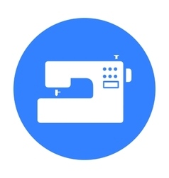 Sewing machine icon of for web vector image