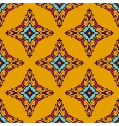 Tiled damask abstract seamless pattern vector
