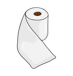 Toilet paper roll symbol icon design beautiful vector