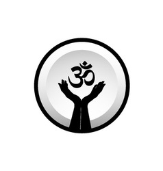 Symbol of Hinduism vector image vector image