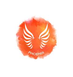 phoenix symbol vector image