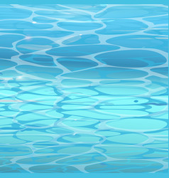 water surface background in pool vector image vector image