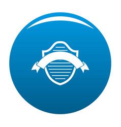 badge premium icon blue vector image vector image