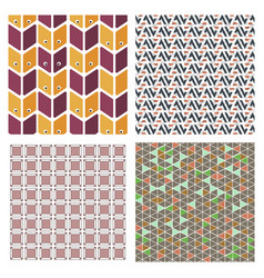 abstract creative concept multicolored background vector image