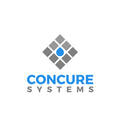 Concrete lab water modern technology vector