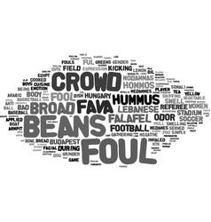 Foul word cloud concept vector