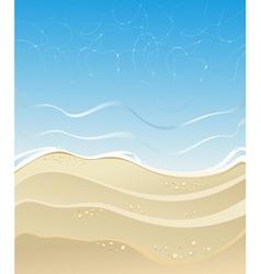 summer sea vector image