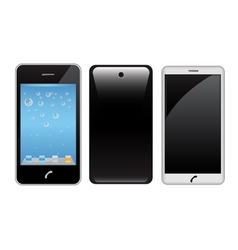 touch screen smart phone vector image