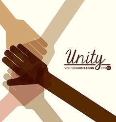 unity people vector image