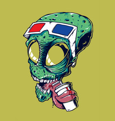 Alienhead vector