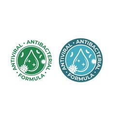 Antiviral antibacterial coronavirus formula vector