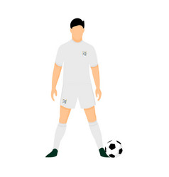 england football jersey national team world cup vector image