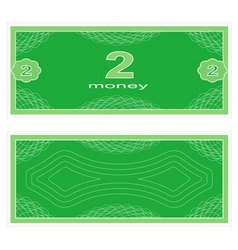 Play money two vector
