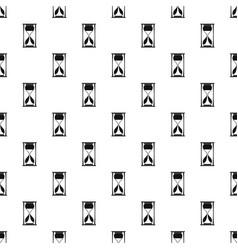 sand clock pattern seamless vector image