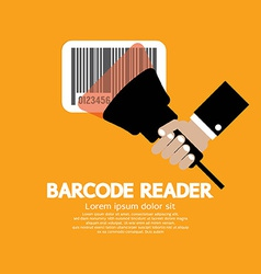 Barcode Reader Graphic vector image vector image