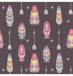 Boho Style Ornament vector image vector image