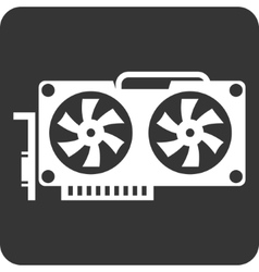 Video card Icon vector image vector image