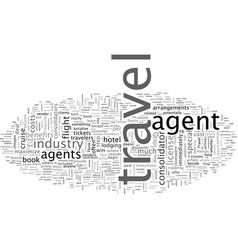 Agent tricks travel trade vector