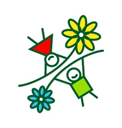Childhood sign vector