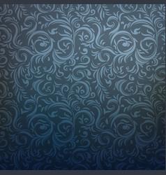 dark ornamental pattern vector image