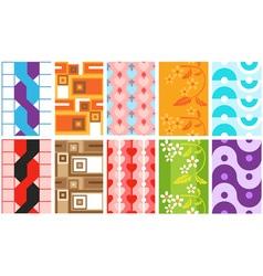 different wallpaper vector image